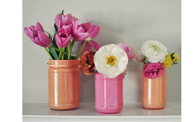 Как украсить вазу своими руками фото фото 622
