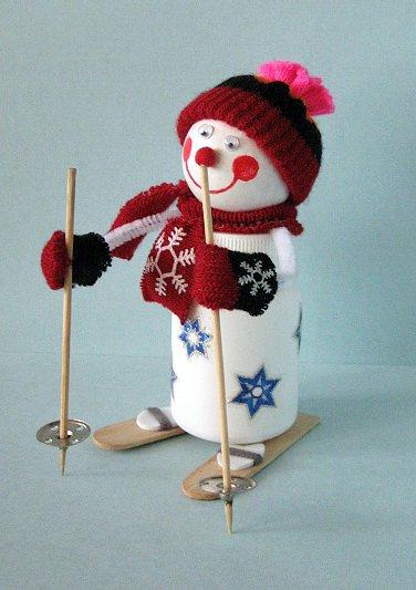 Поделки снеговиков своими руками