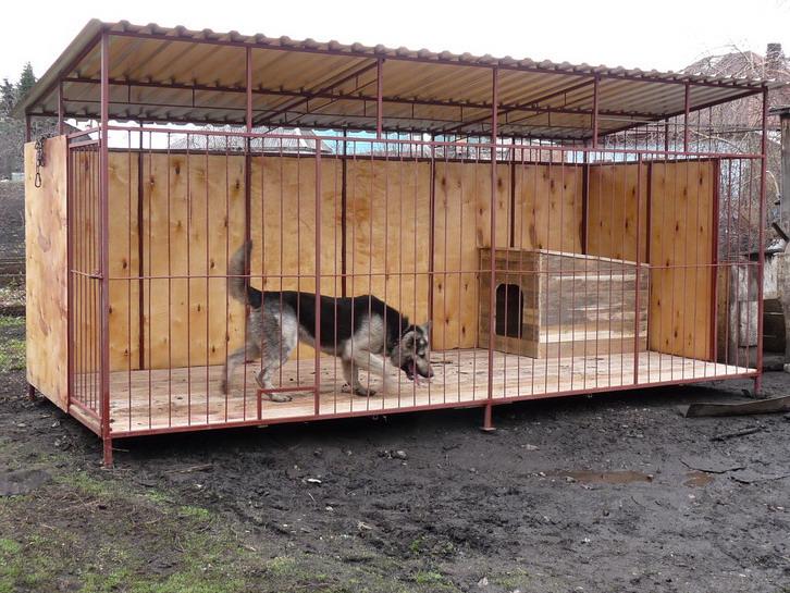 Вольеры для крупных собак