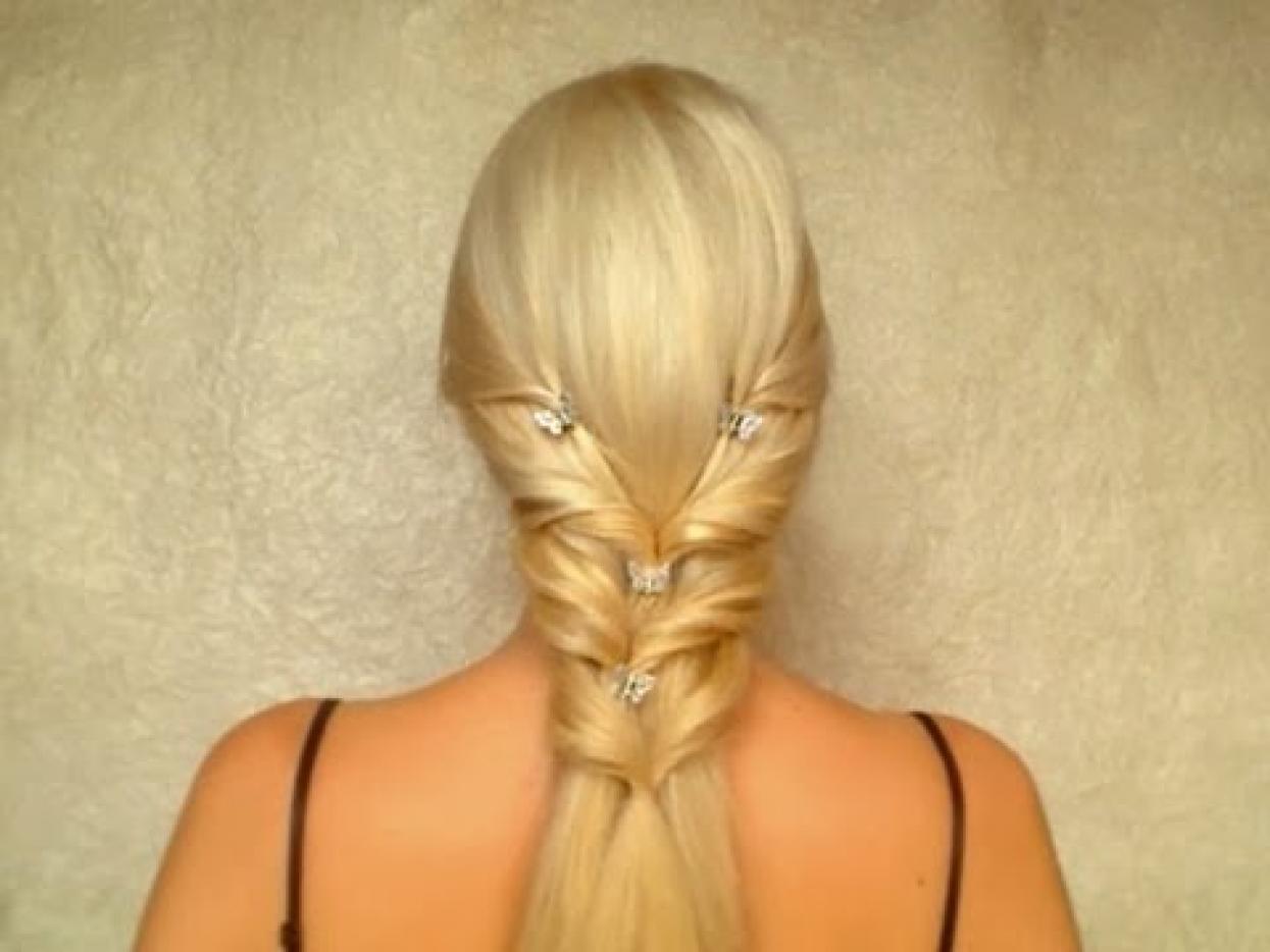 Приспособления для прически конский хвост Как сделать конский хвост Прически Ваши волосы