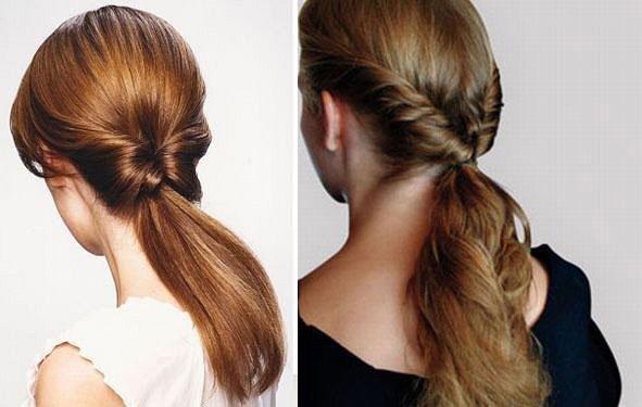 Фото простых причесок на длинные волосы на каждый день своими руками