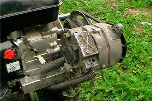 Двигатель для генератора своими руками
