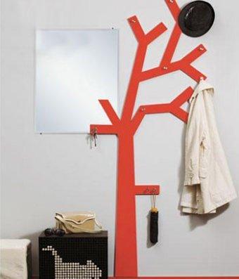 Вешалка дерево прихожую