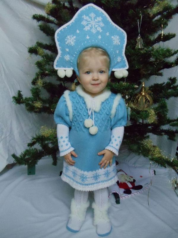 Фото детских новогодних костюмов своими руками