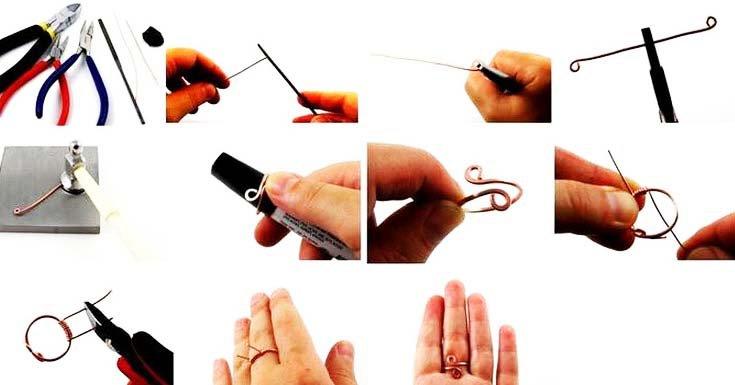 Как сделать кольцо своими руками на новый год