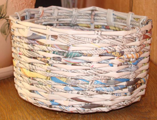 Как сделать плетеные корзины своими руками 939
