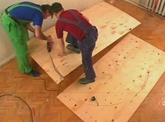 Как сделать круглый подиум для кровати