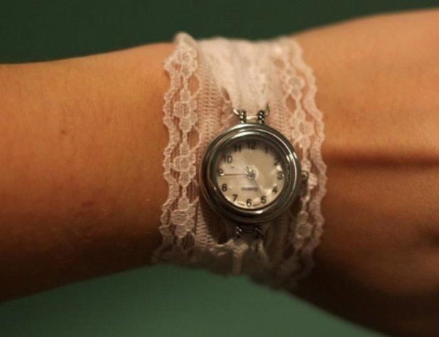 Ремень для женских часов своими руками