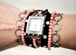 Креативное решение: ремешок для часов своими руками