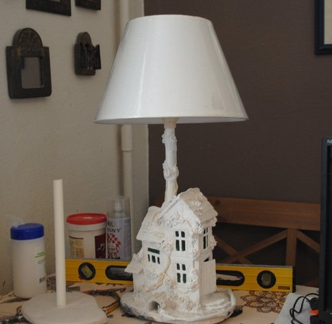 как покрасить лампу своими руками