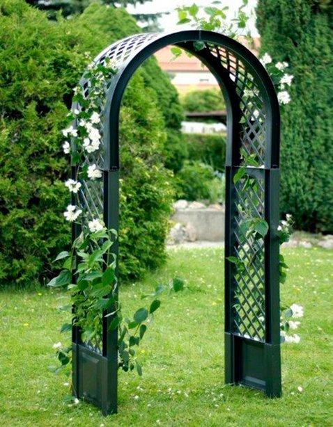 Как сделать арку своими руками для сада