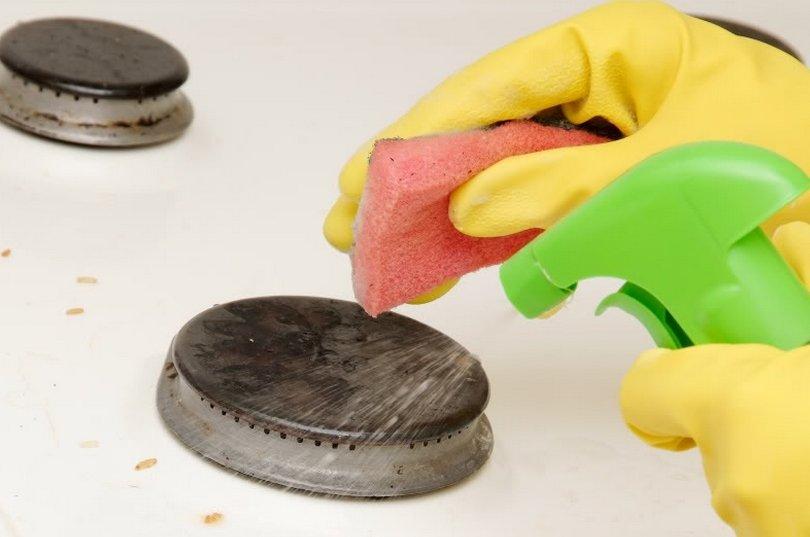 Как почистить конфорки в домашних условиях 438