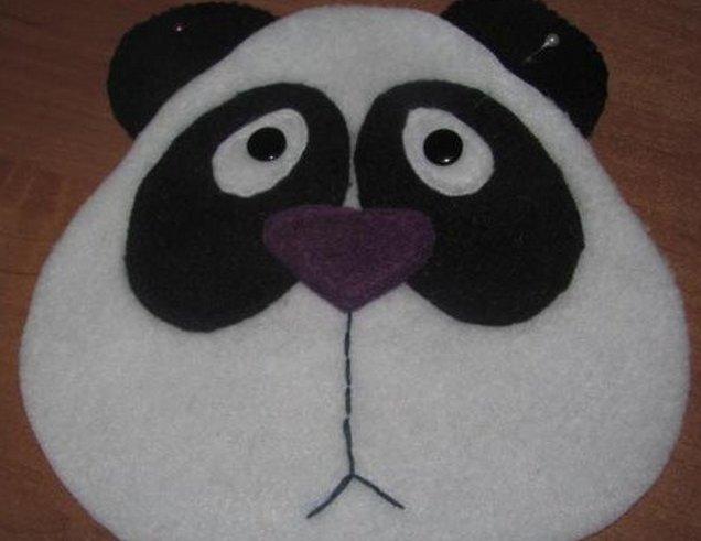 Подушки панды своими руками
