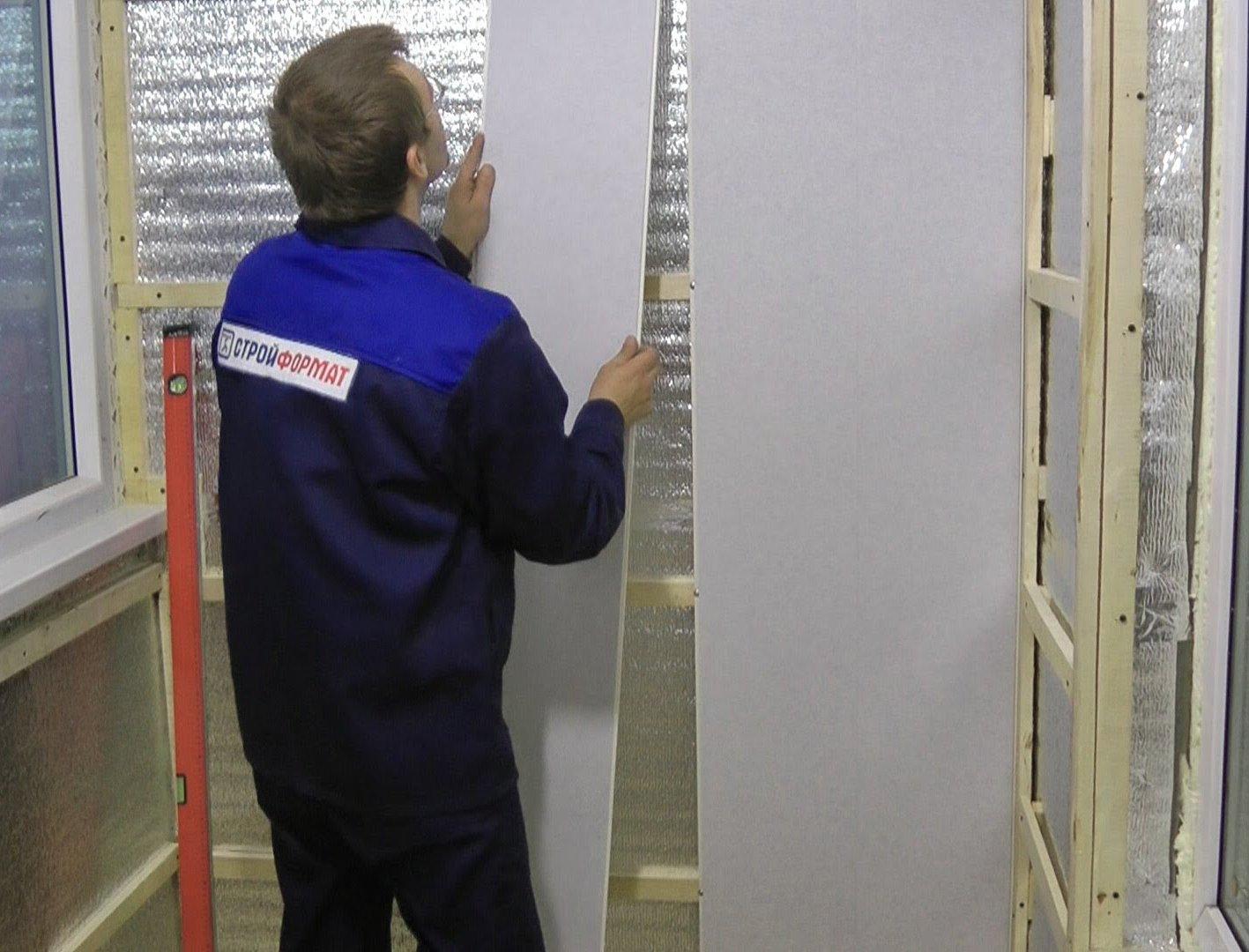Отделка стен панелями пвх своими руками 32