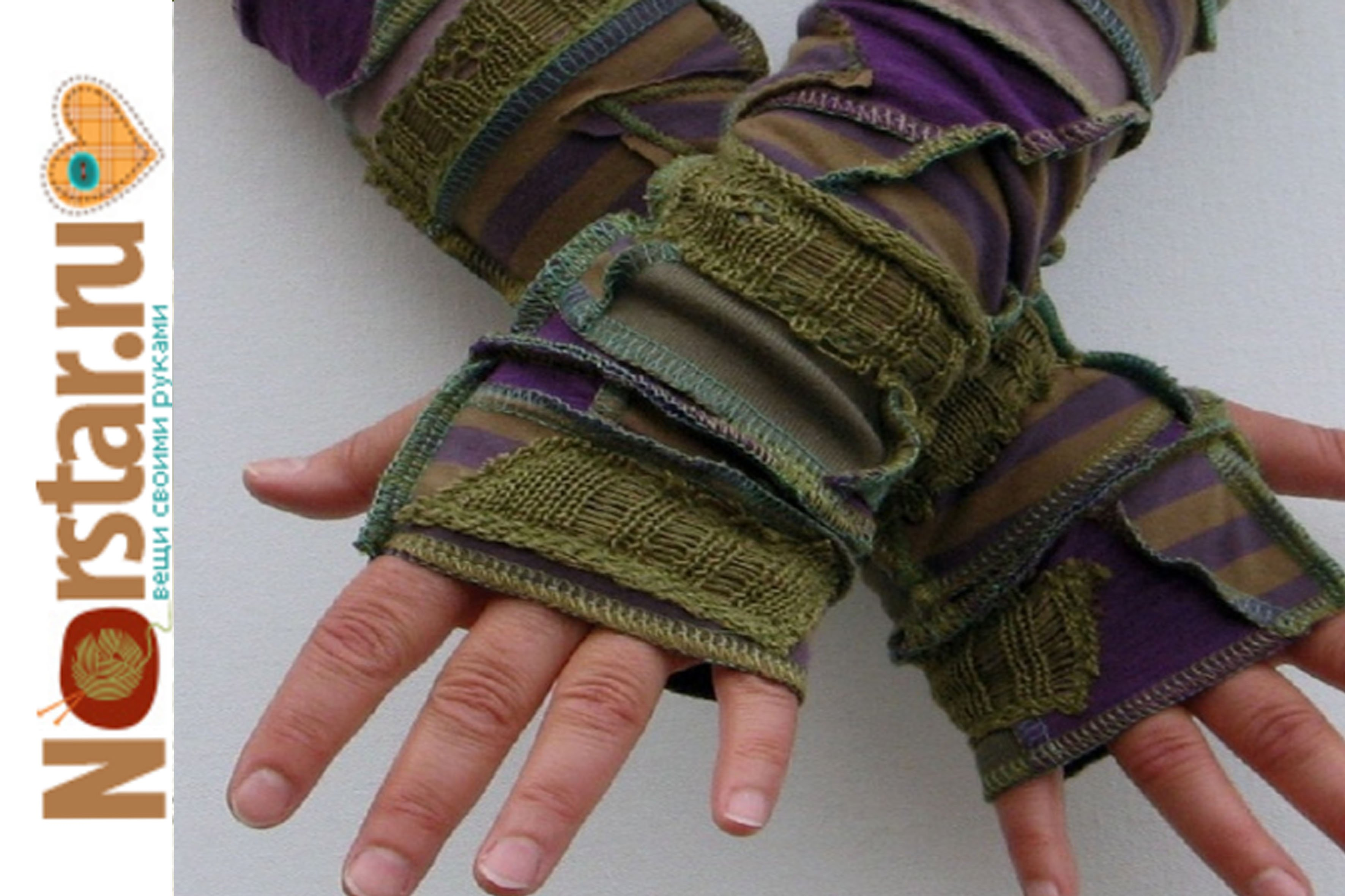 Митенки своими руками сшитые