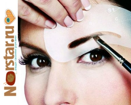 Как покрасить себе брови самой