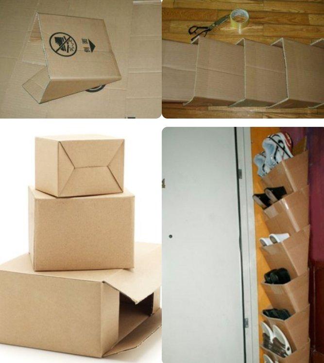 Как сделать коробки для обуви