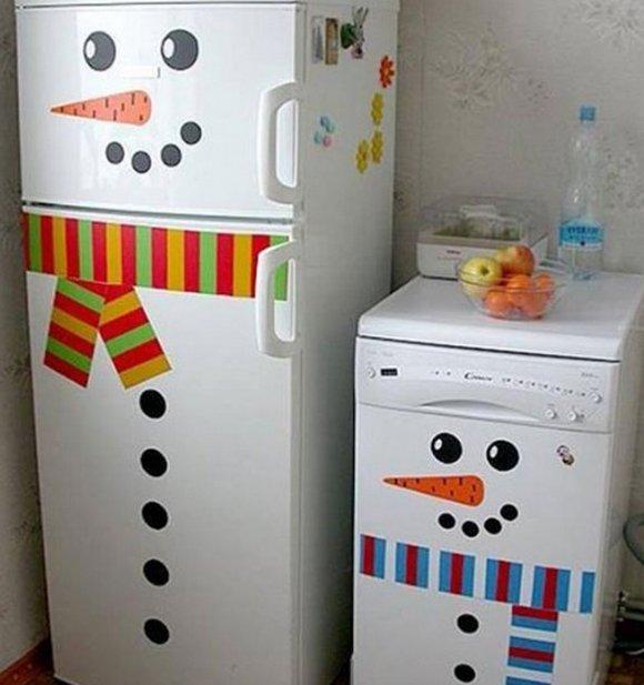 Чем украсить холодильник своими руками