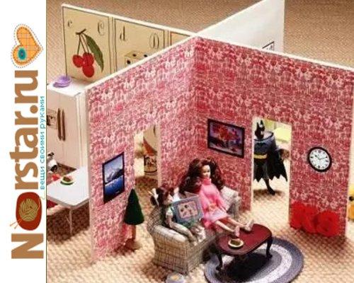 Как построить кукольный домик своими руками