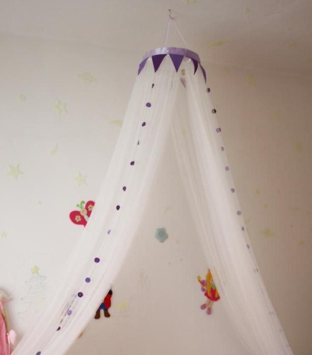 Балдахин для детской кроватки своими руками с фото