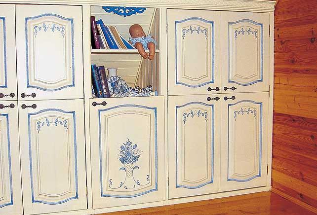 Как декорировать старую мебель из дсп своими руками