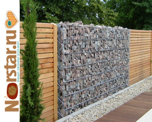 забор для загородного дома фото