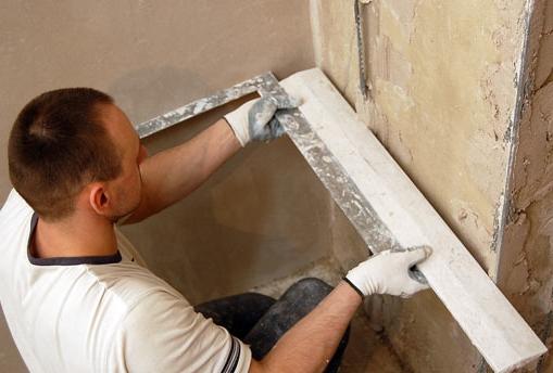 Выравнивание наружных стен своими руками