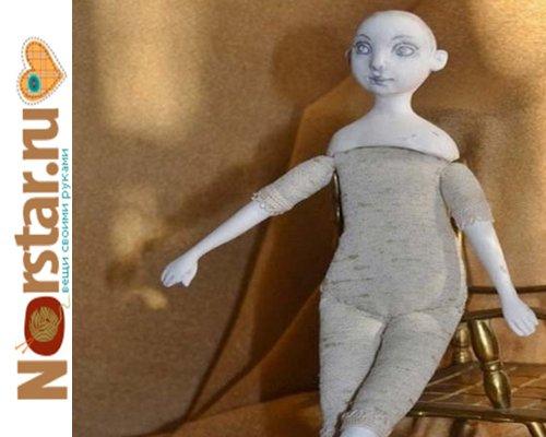 Своими руками голова для куклы