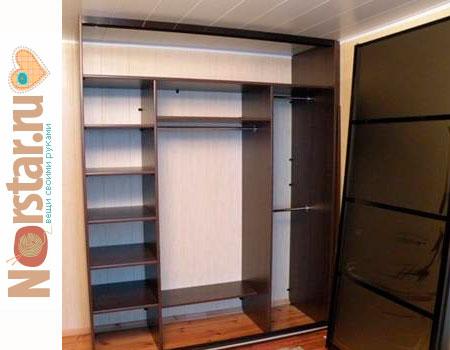 Как сделать шкаф - купе самостоятельно