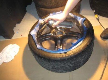 Как покрасить автомобильные диски