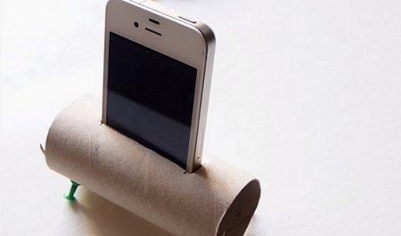 Усилитель звука для смартфона или динамик из втулки: