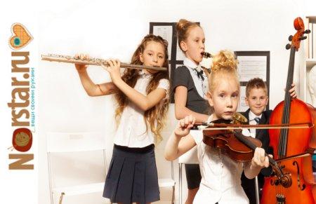 Как выбрать музыкальный инструмент для ребенка?