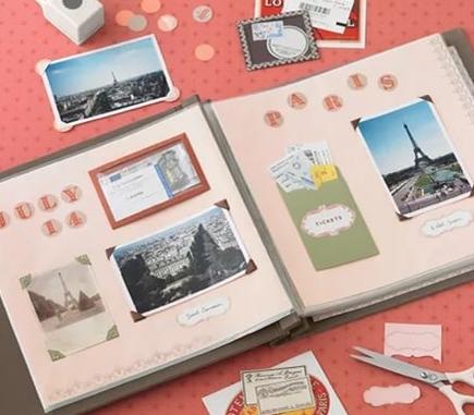 Альбом для скрапбукинга: чтобы твои воспоминания нельзя было купить или уничтожить