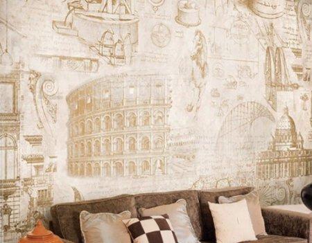 Фрески в жилых интерьерах