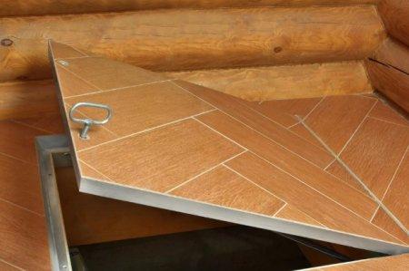 Как сделать люк под плитку