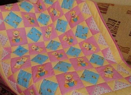 Как сшить одеяло своими руками