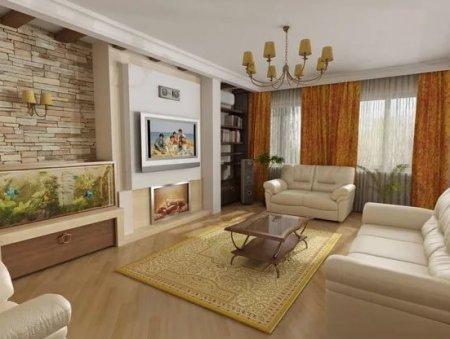 Как подобрать интерьер зала в квартире