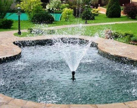 Постройка фонтана своими руками