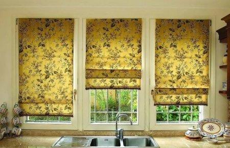 Рулонные шторы или кому надоели привычные жалюзи