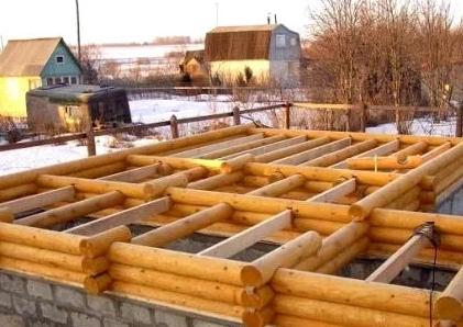 Как построить дом из оцилиндрованных бревен?