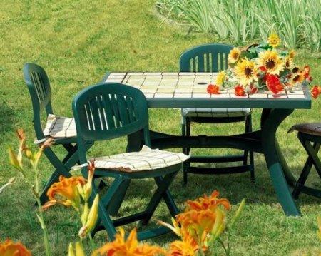 Достоинства мебели из пластика