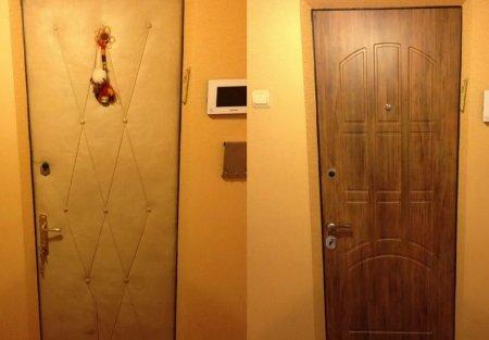 Как обновить входную дверь