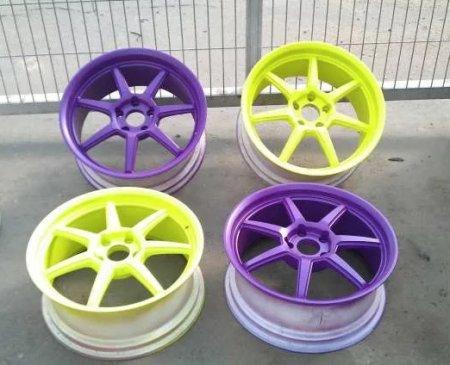 Порошковая покраска дисков: о принципах окрашивания
