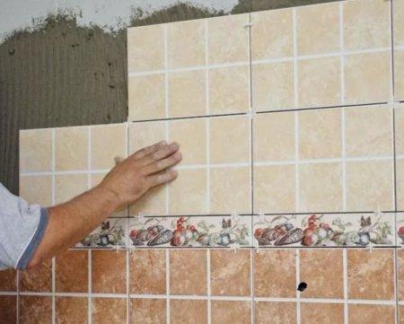 Способы укладки настенной керамической плитки