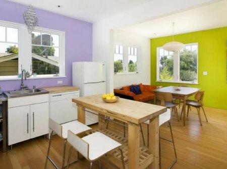 Как подобрать цвет стен на кухне: практические советы