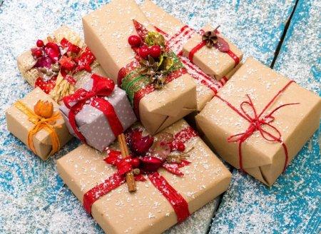 Подарок на Новый год своими руками