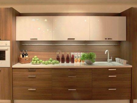 Прямые кухни – отличное решение