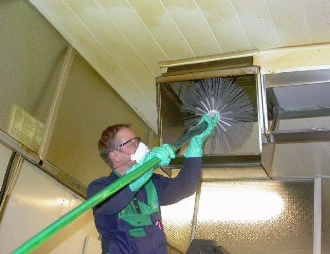 Для чего требуется очистка вентиляции