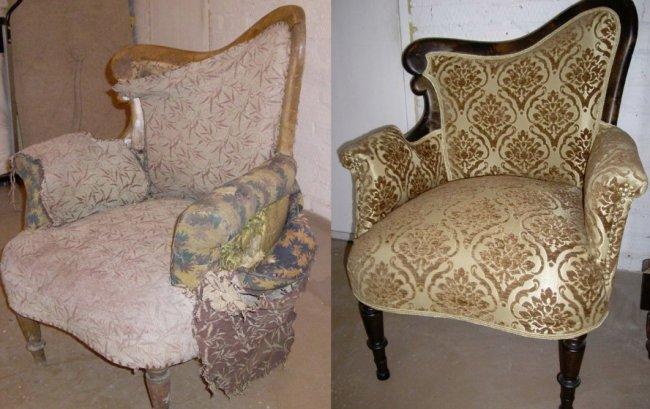 Перетяжка диванов — новый вид старой мебели