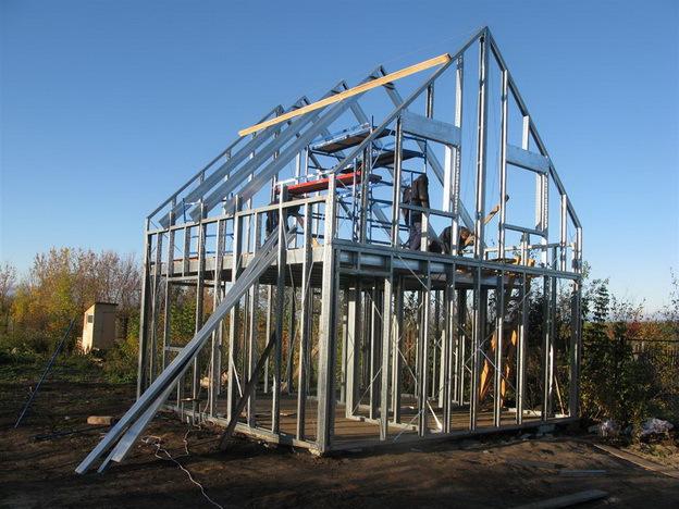 Дачный дом строим сами